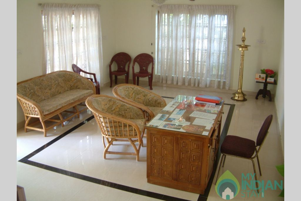 Sitout in a HomeStay in Thiruvananthapuram, Kerala