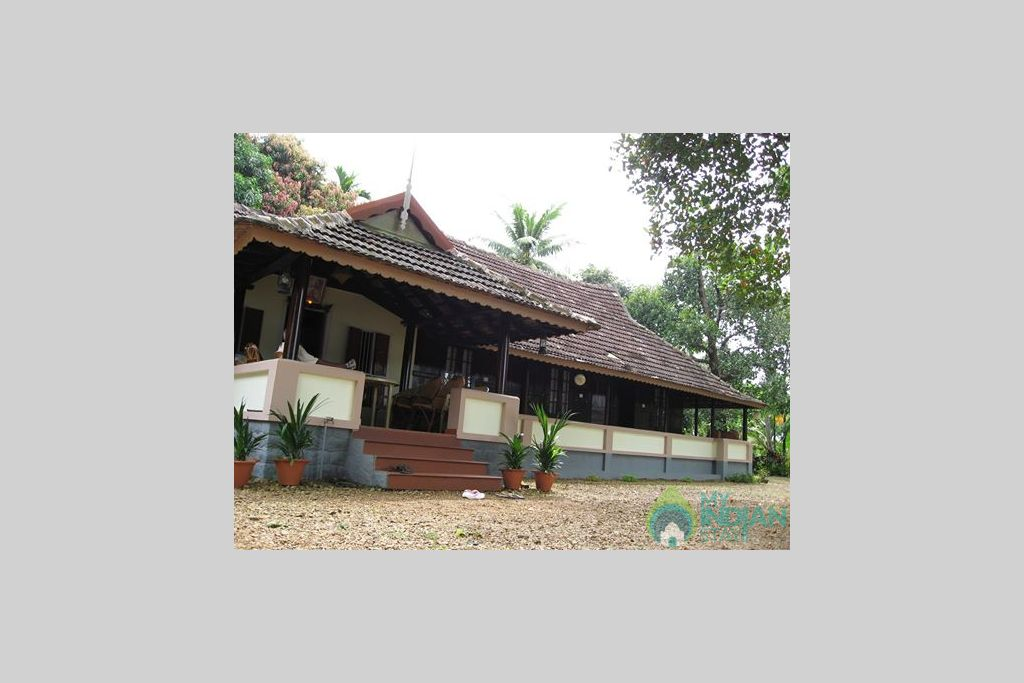 Frontal View in a Villa in Alappuzha, Kerala