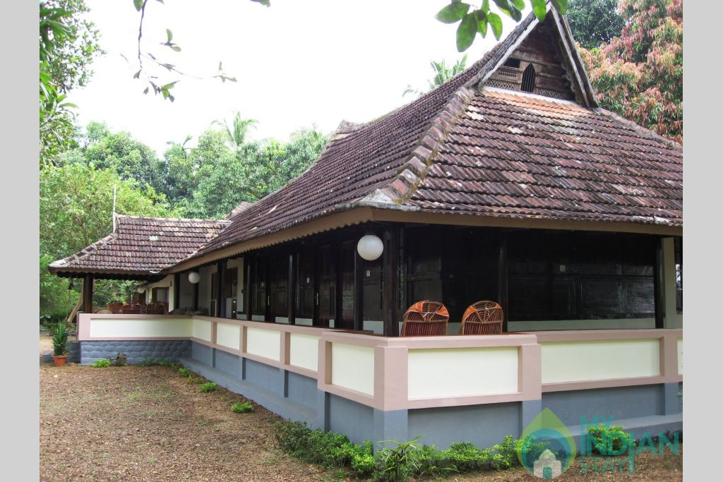 Side View in a Villa in Alappuzha, Kerala