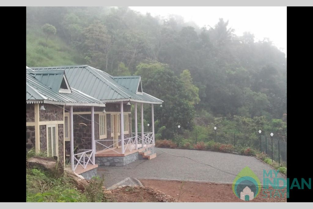 Front view of Homestay in a HomeStay in Vagamon, Kerala