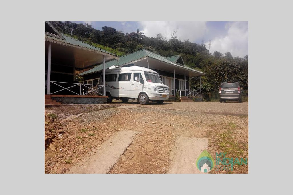 Parkin area in a HomeStay in Vagamon, Kerala