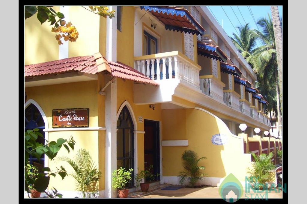 Front View in a Hotel in Canacona, Goa