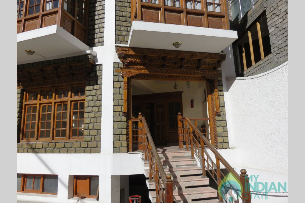 Side Entrance  in a Hotel in Leh, Jammu and Kashmir
