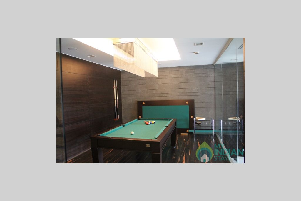 pool room (2) in a Hotel in New Delhi, Delhi