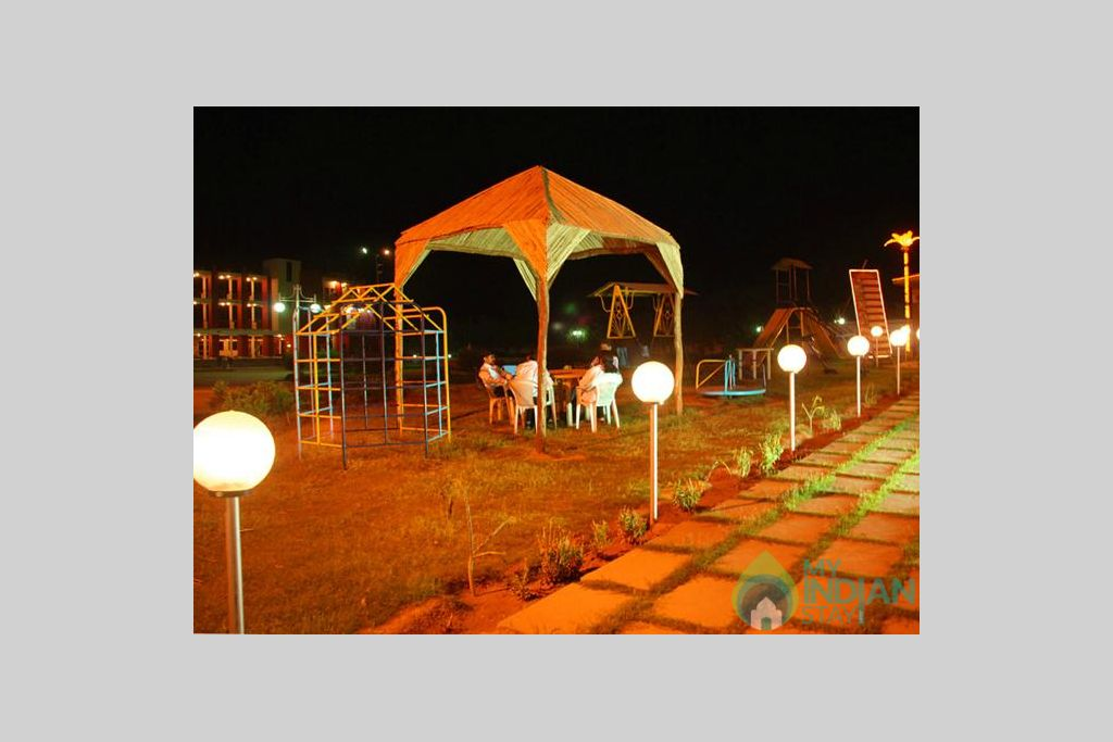 night view in a Resort in Jaipur, Rajasthan