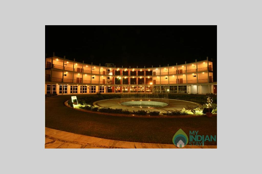 view of the resort in a Resort in Jaipur, Rajasthan