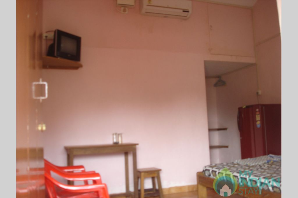 A/c Double Room in a Guest House in Anjuna, Goa