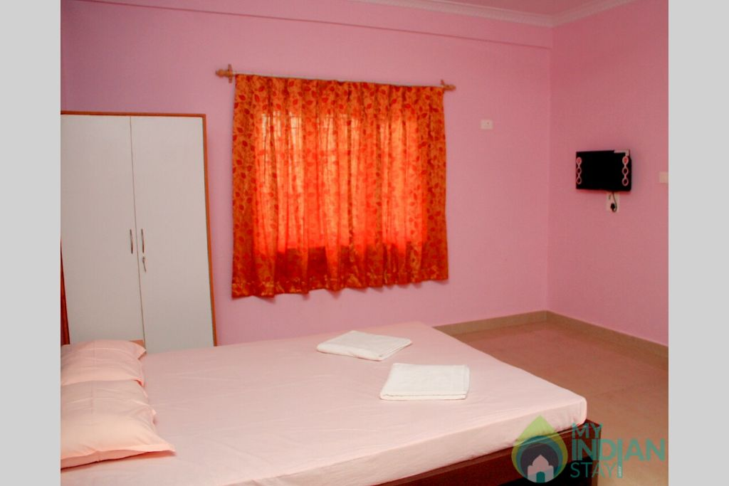 Bedroom 2 in a Guest House in Morjim, Goa