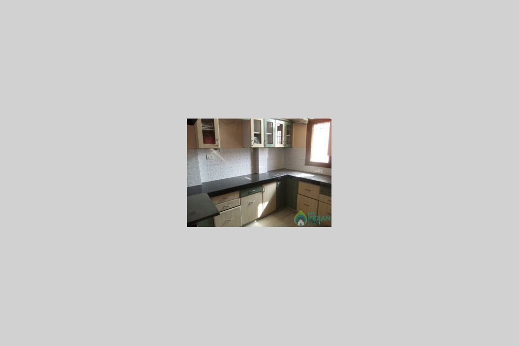 Kitchen in a Serviced Apartment in Jaipur, Rajasthan