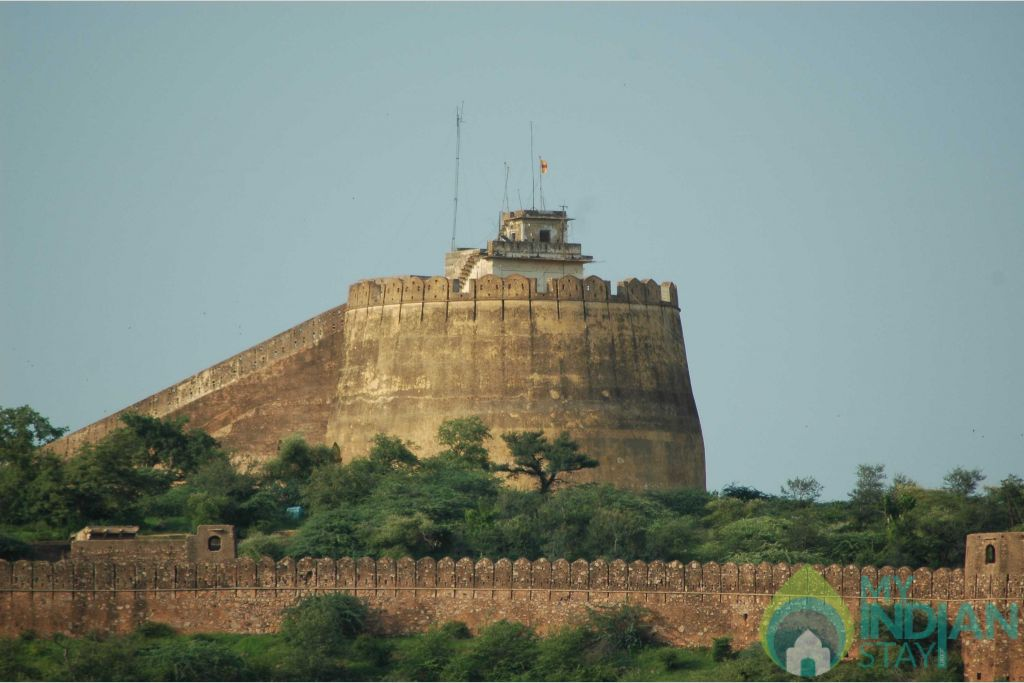 Taragarh fort in a Bed & Breakfast in Bundi, Rajasthan