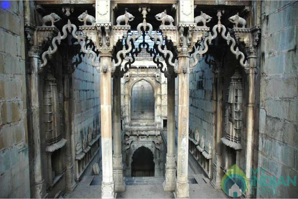 Rani Ji ki Baori- Step Well in a Bed & Breakfast in Bundi, Rajasthan