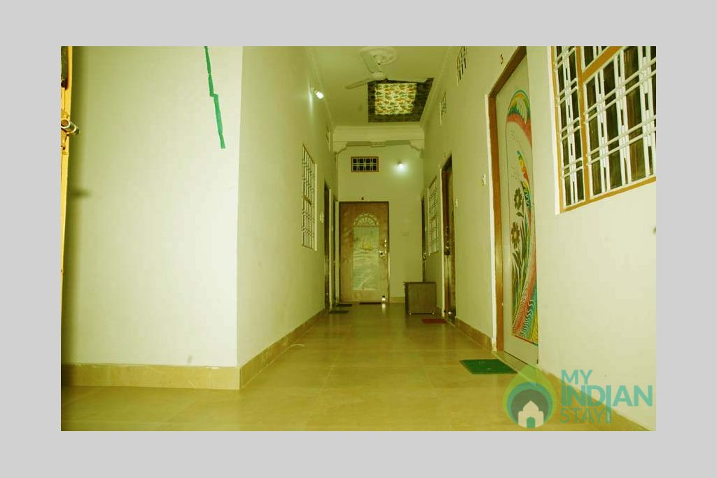 Corridor  in a Bed & Breakfast in Bundi, Rajasthan
