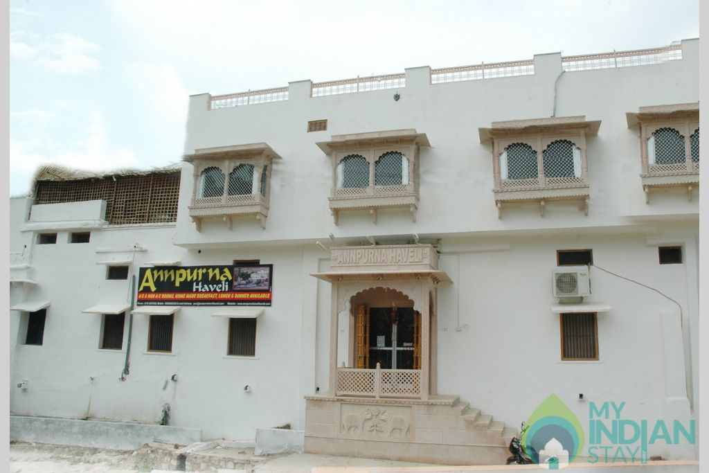 Annpurna Haveli in a Bed & Breakfast in Bundi, Rajasthan