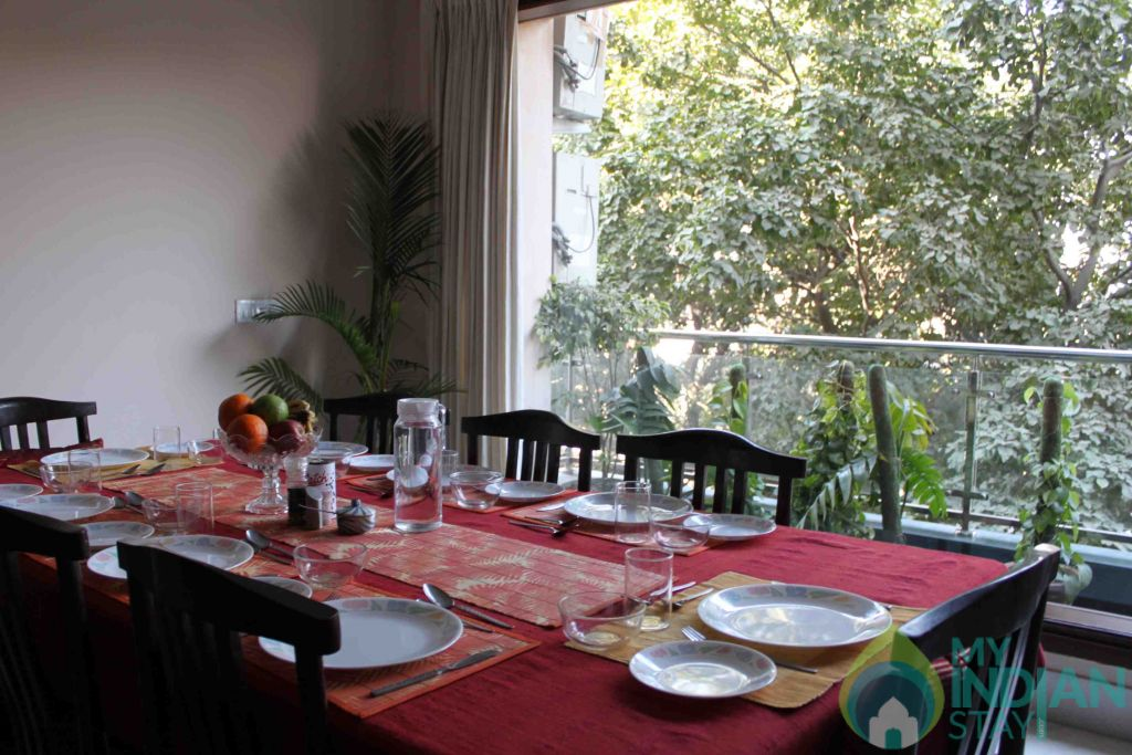 Dine in the trees! in a Bed & Breakfast in New Delhi, Delhi