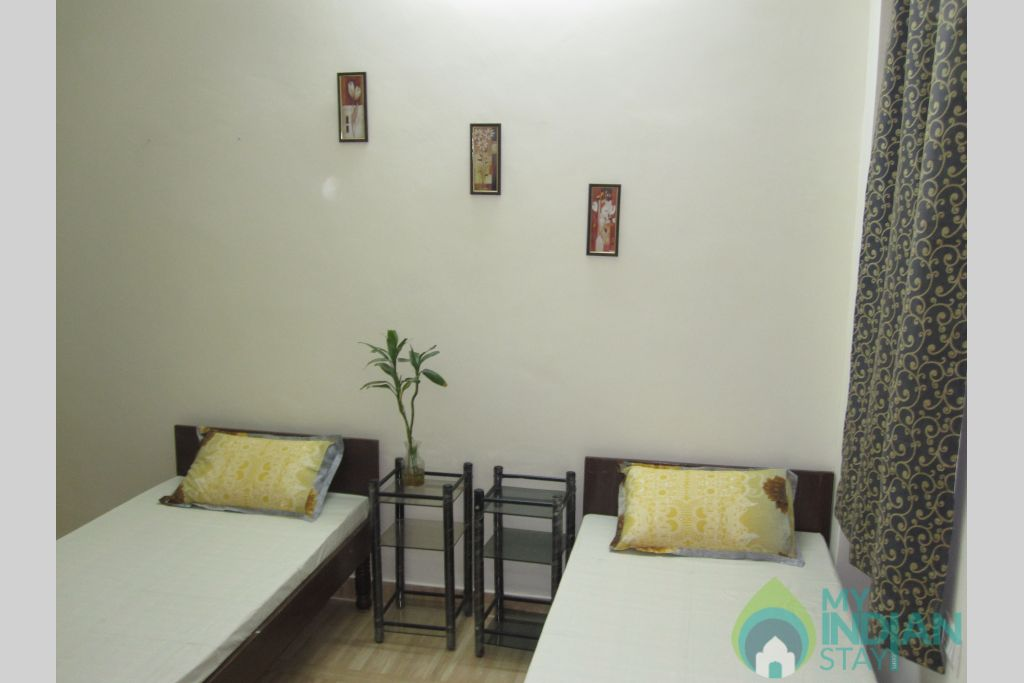 2 Bedroom Set, Suitable for Group/Family Stay in a Bed & Breakfast in New Delhi, Delhi