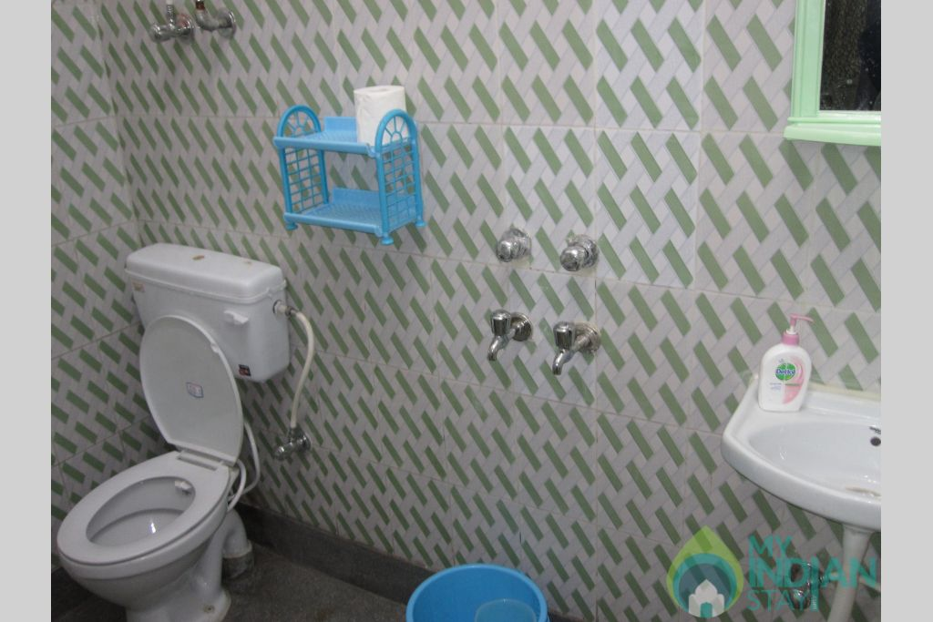Washroom of 2 Bedded Private Room in a Bed & Breakfast in New Delhi, Delhi