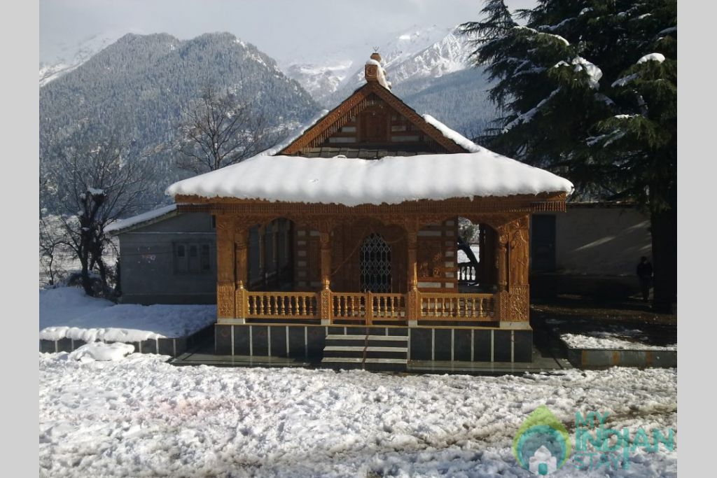 Temple in a HomeStay in Kufri, Himachal Pradesh