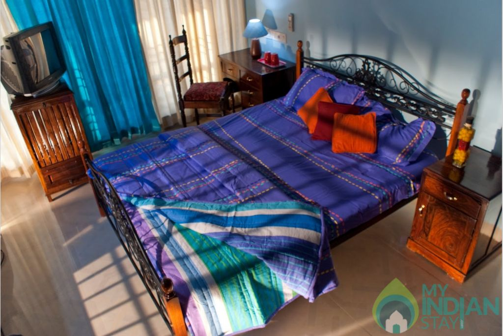Bedroom in a HomeStay in Thiruvananthapuram, Kerala