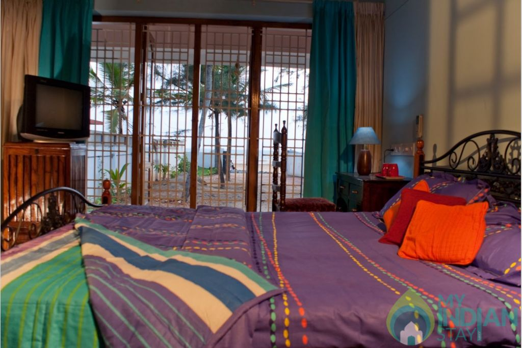 View of Bedroom in a HomeStay in Thiruvananthapuram, Kerala