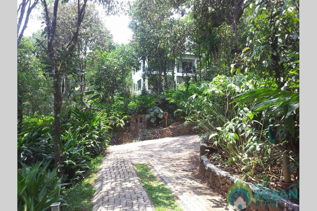 Entrance View in a HomeStay in Kumily, Kerala
