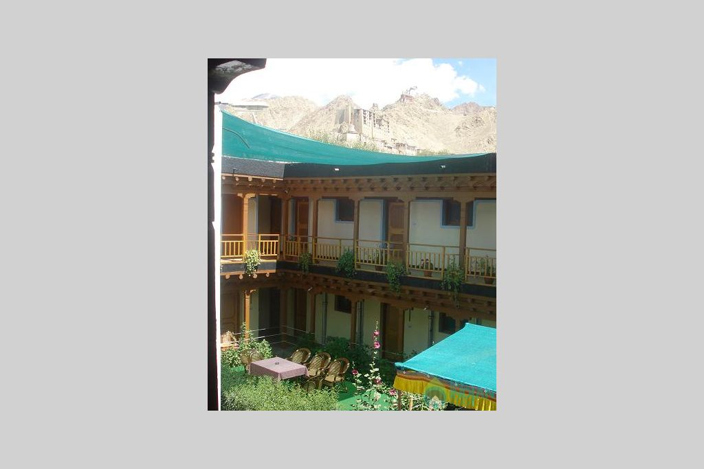 Front view of Hotel Tso kar in a Bed & Breakfast in Leh, Jammu and Kashmir