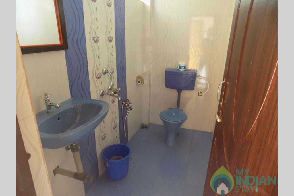 Bathroom in a Cottage/Huts in Mandrem, Goa