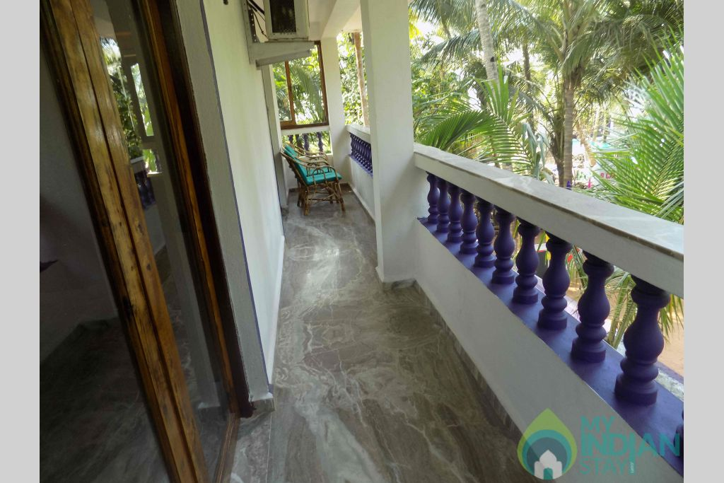 Balcony in a Cottage/Huts in Mandrem, Goa