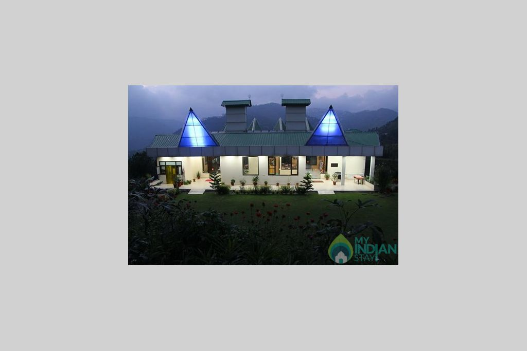 Night View of the cottage in a Resort in Shimla, Himachal Pradesh