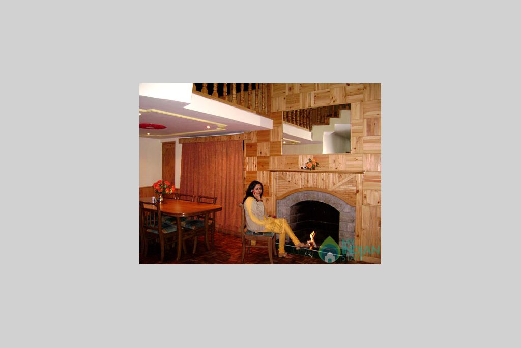 Fire Place in a Guest House in Manali, Himachal Pradesh