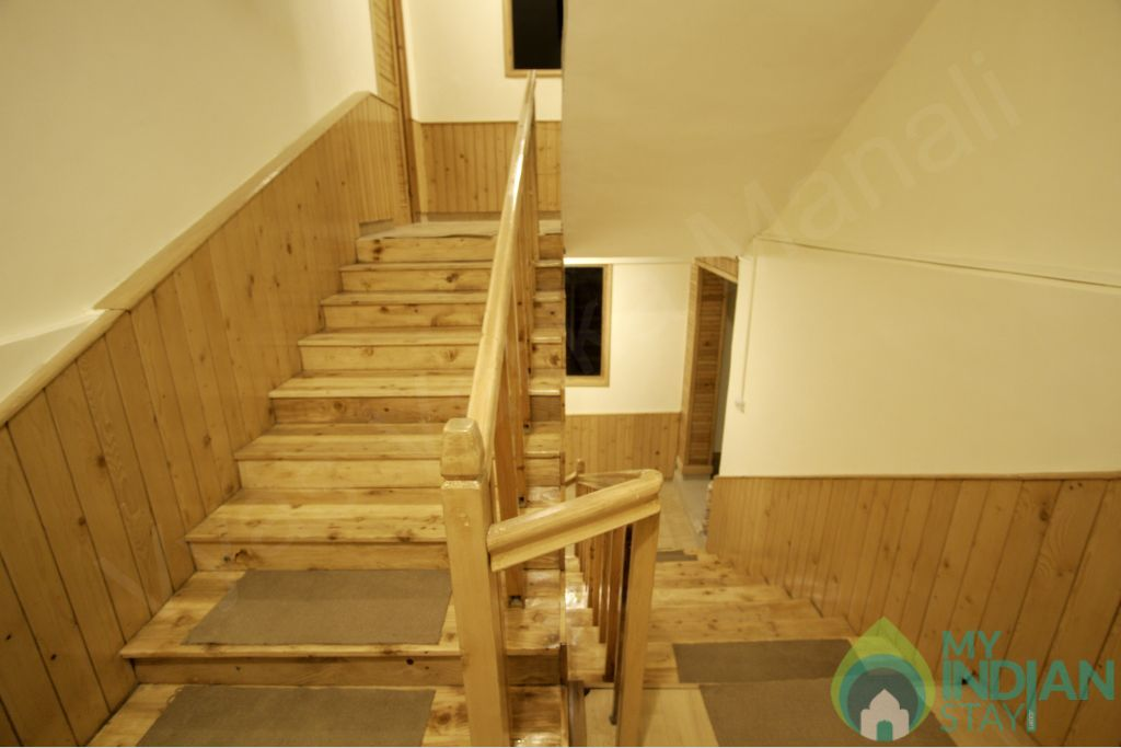 Step To Bedroom in a Guest House in Manali, Himachal Pradesh