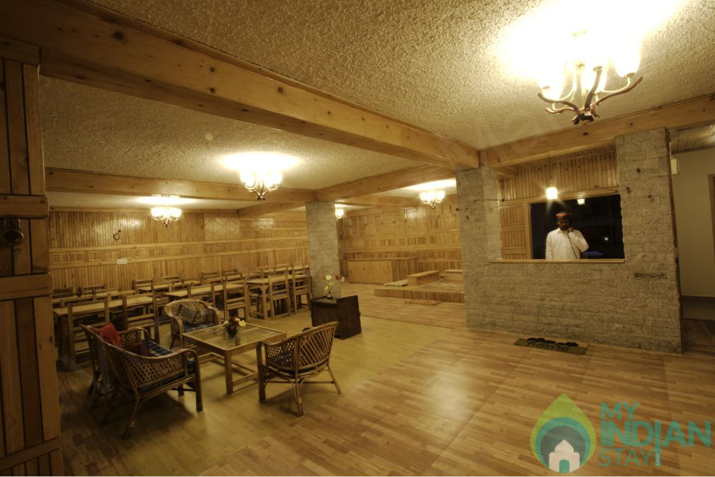 Dinning Area in a Guest House in Manali, Himachal Pradesh
