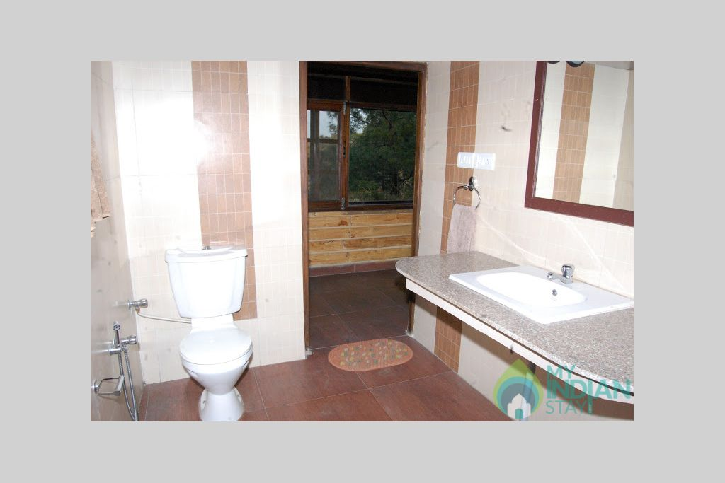 Bathroom in a Cottage/Huts in Shimla, Himachal Pradesh