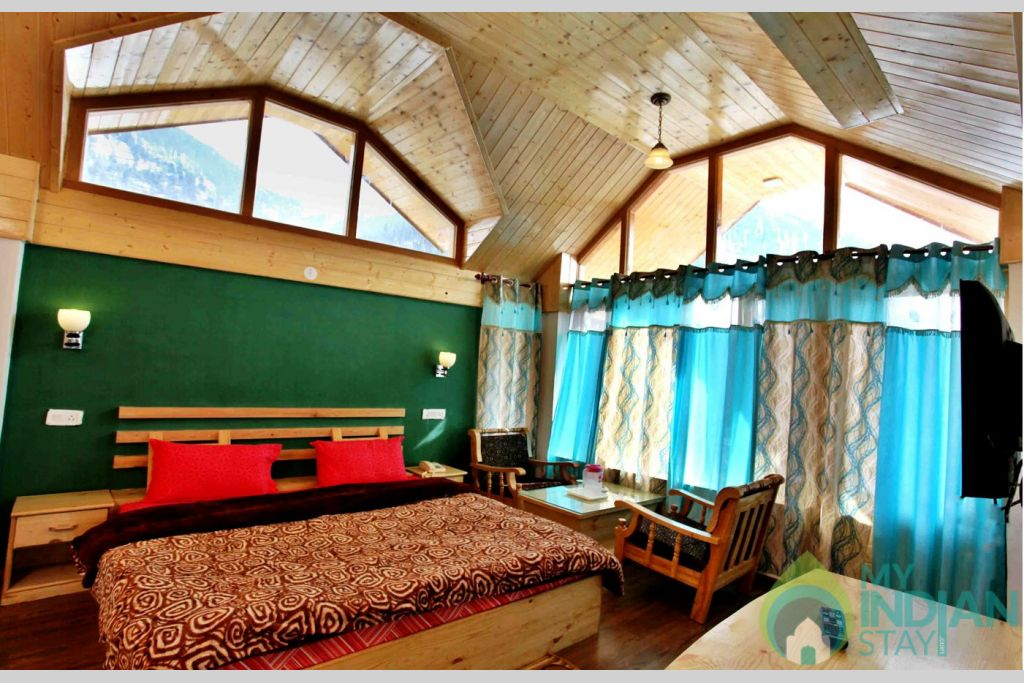 Bedroom in a Cottage/Huts in Manali, Himachal Pradesh
