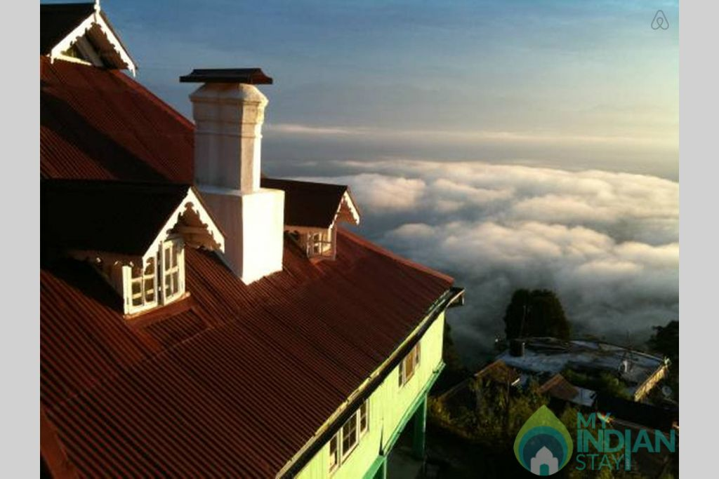 Ariel View in a Bed & Breakfast in Darjeeling, West Bengal