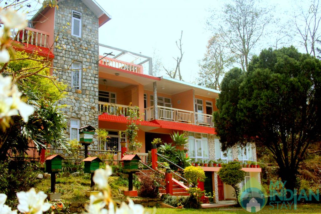 Main Entrance in a Guest House in Kalimpong, West Bengal