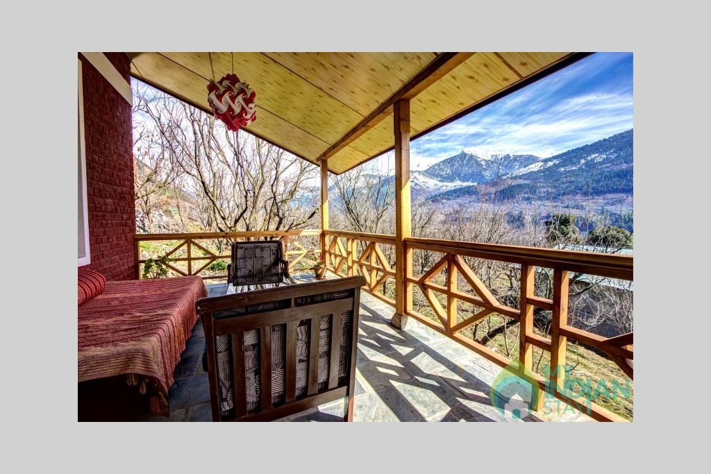 Sit Out In Balcony in a Cottage/Huts in Katrain, Himachal Pradesh