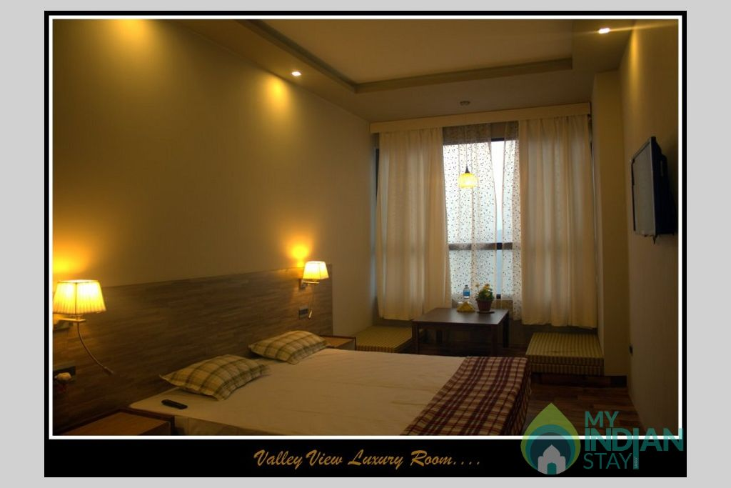 View Bedroom in a Serviced Apartment in Gangtok, Sikkim