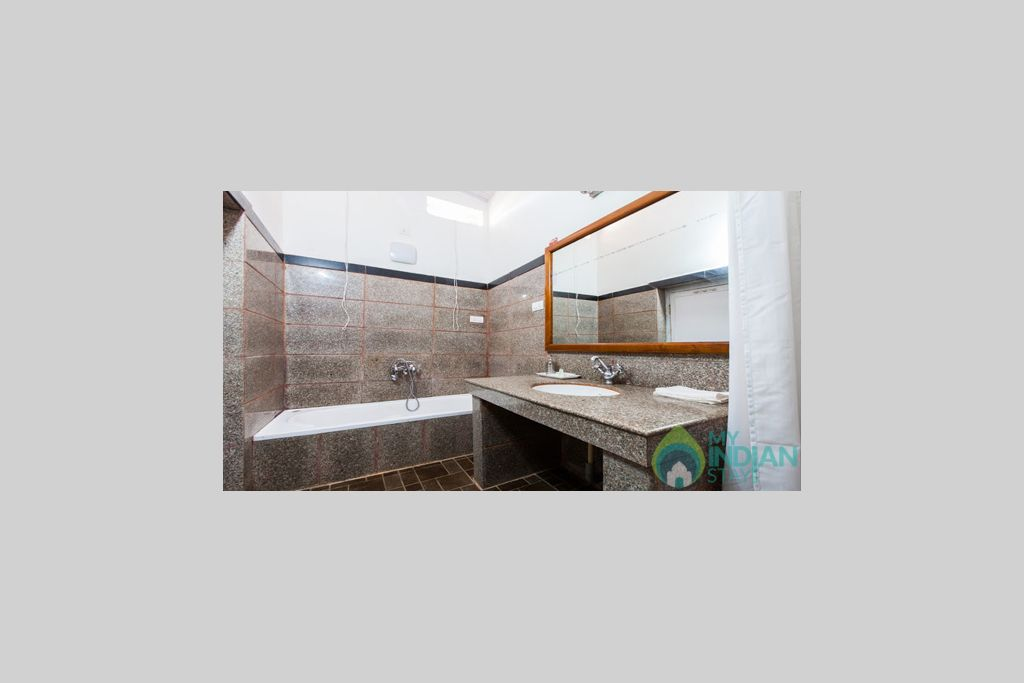 Bathroom in a Resort in Ooty, Tamil Nadu