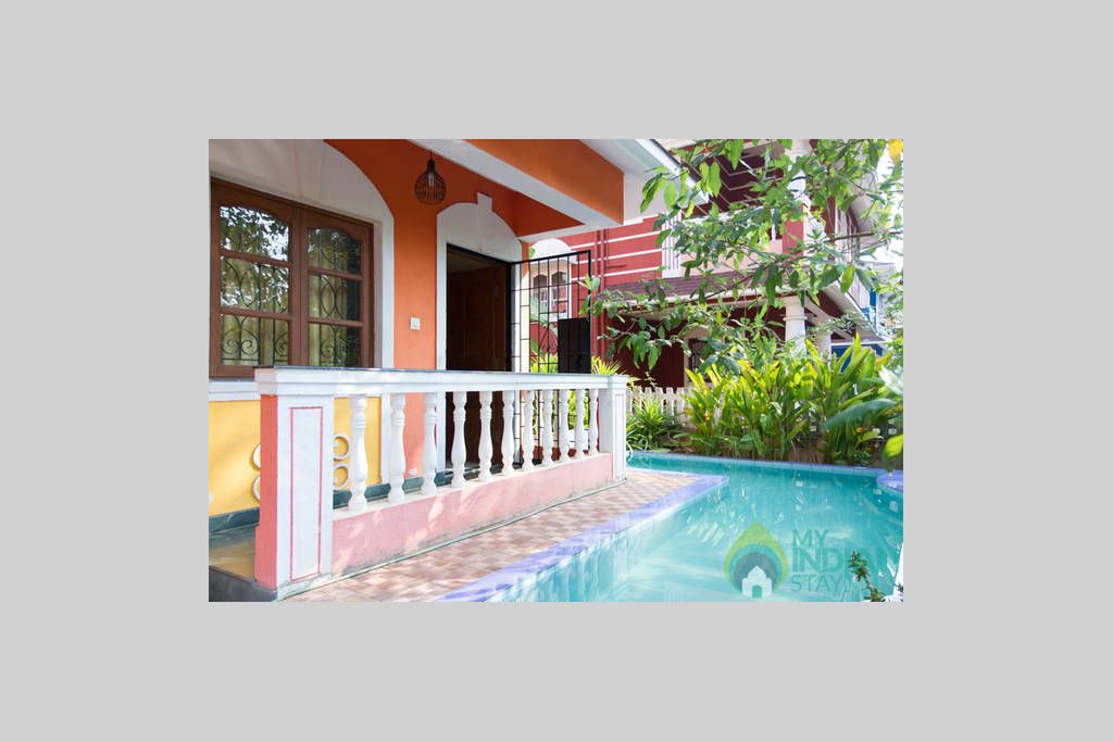 2 in a Independent Bungalow in Benaulim, Goa
