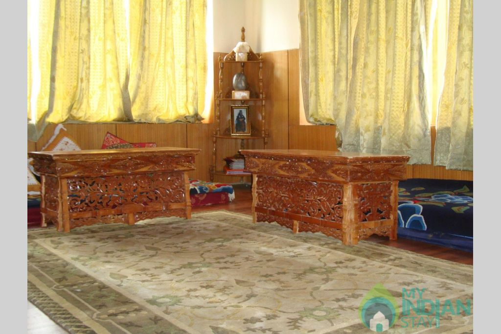 Sitting Area in a HomeStay in Leh, Jammu and Kashmir