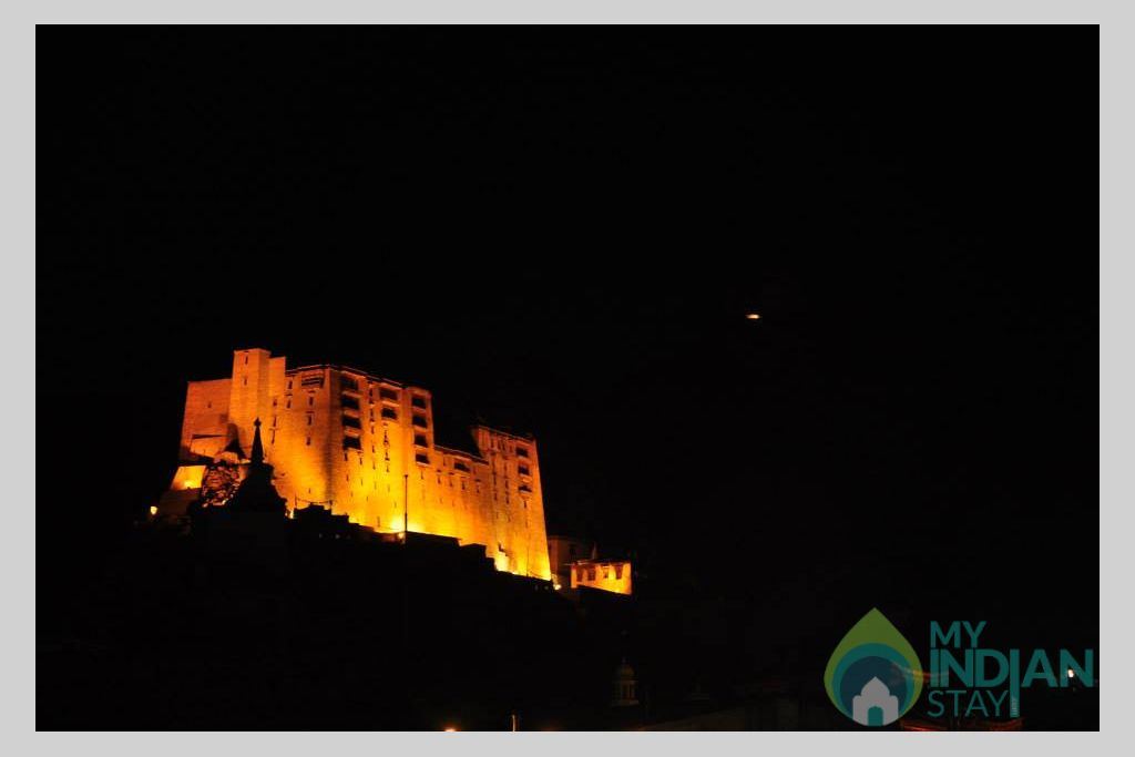 @ Night View in a HomeStay in Leh, Jammu and Kashmir