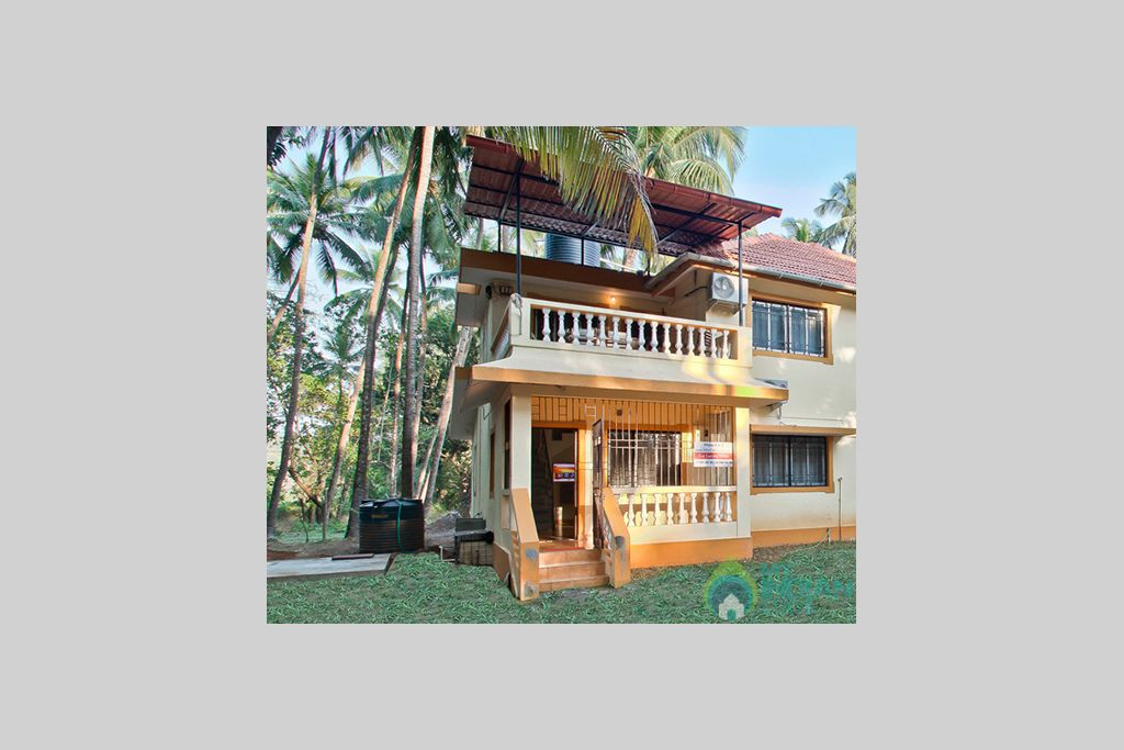 1-private-holiday-homes-in-goa-for-rent in a Villa in Calangute, Goa