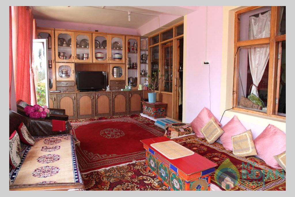 Sitting Area in a Guest House in Leh, Jammu and Kashmir