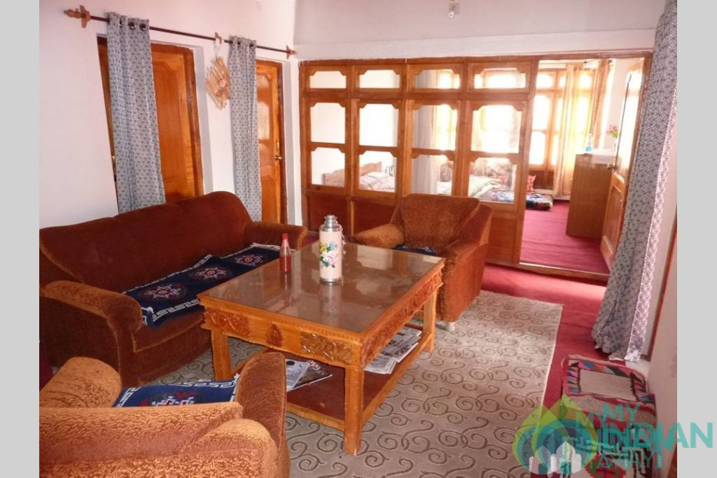 Living Room in a Guest House in Leh, Jammu and Kashmir