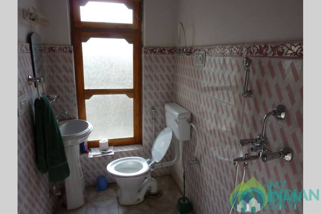 Bathroom in a Guest House in Leh, Jammu and Kashmir