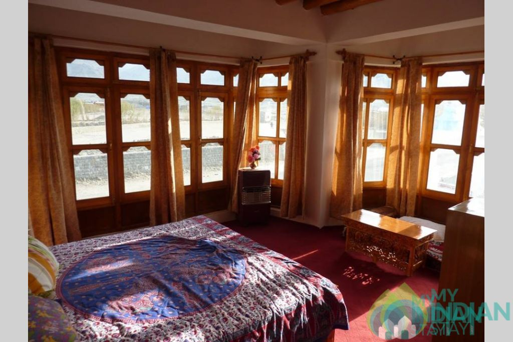 Bedroom in a Guest House in Leh, Jammu and Kashmir