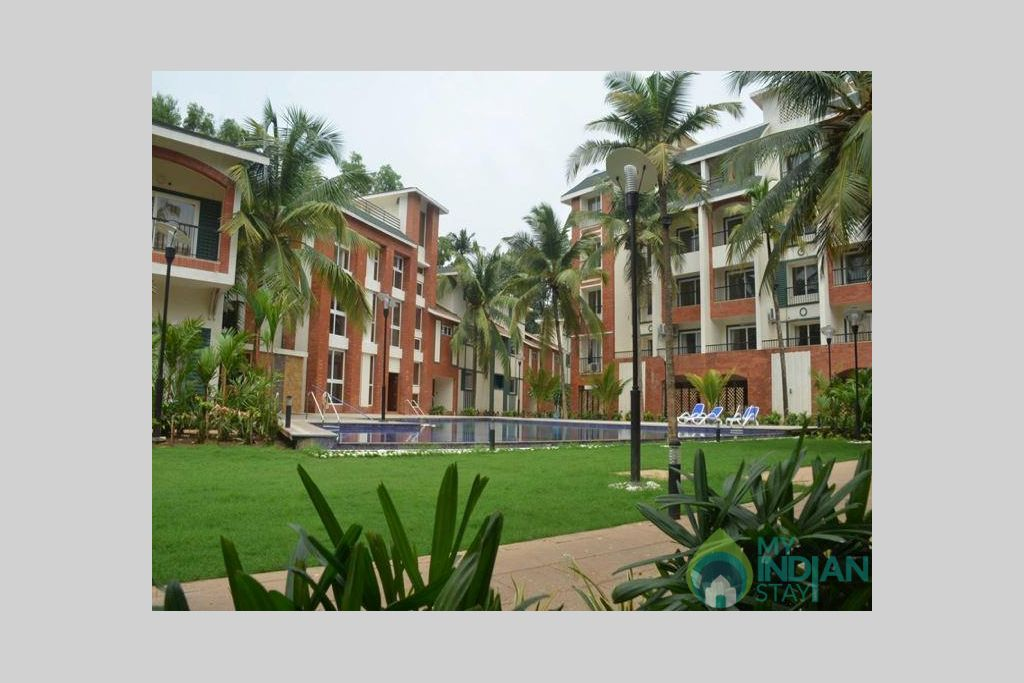 3b in a Self Catered Apartment in Arpora, Goa
