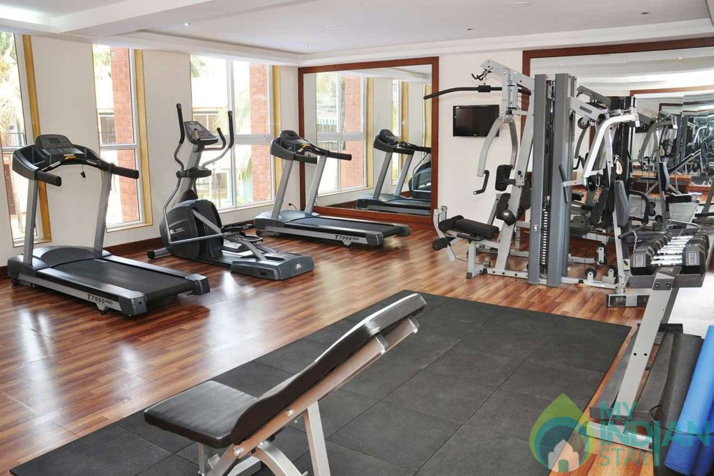 gym - Copy in a Self Catered Apartment in Arpora, Goa