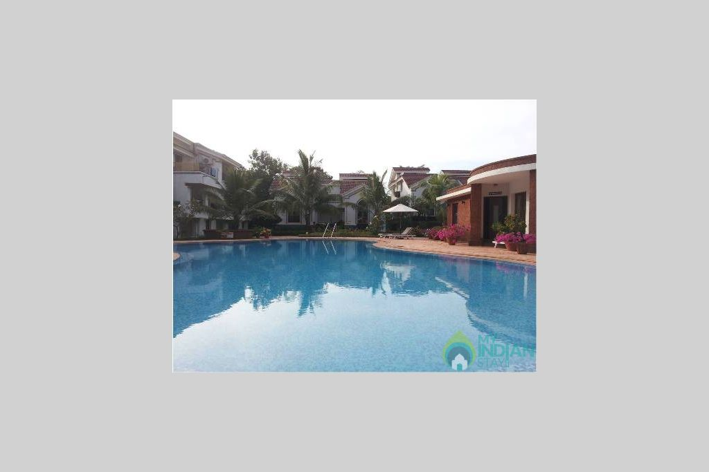Pool4 in a Self Catered Apartment in Arpora, Goa