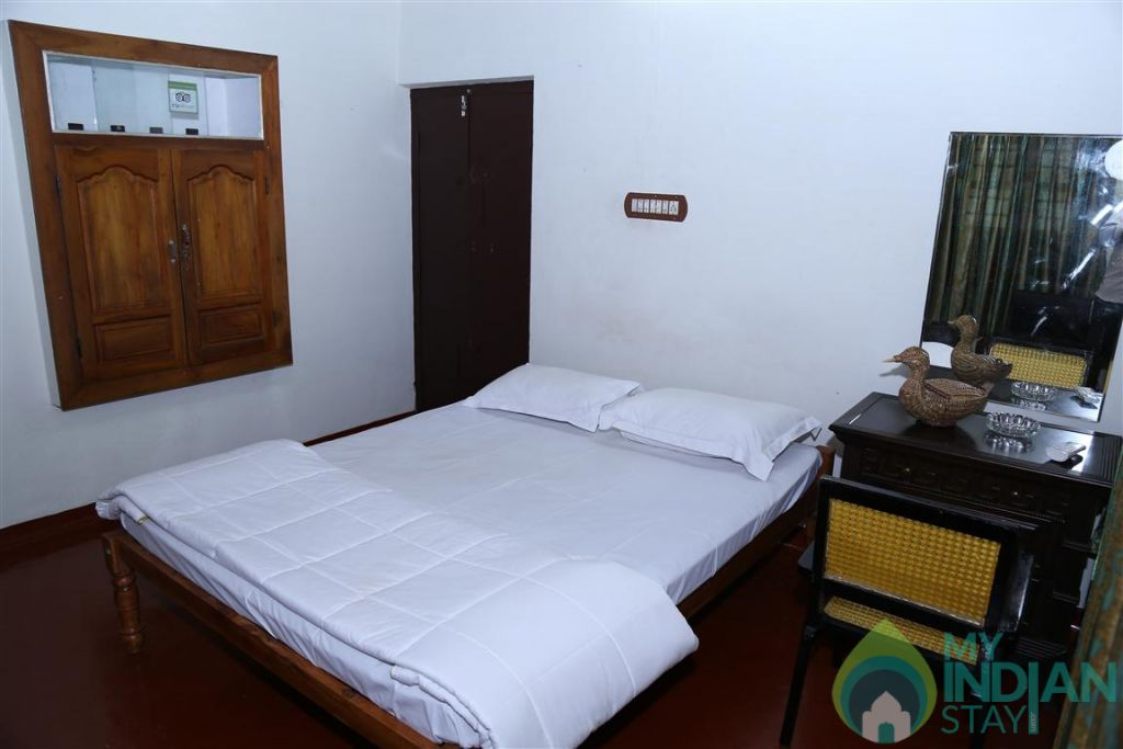 Bedroom in a HomeStay in Kumarakom, Kerala